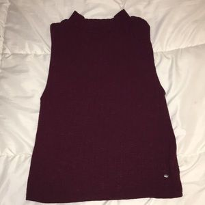 American Eagle Knitted Muscle Tee